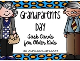 Grandparents Day Task Cards for Older Kids