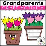 "Grandparent's Day ""Tulips for a Terrific Grandparent"" Craftivity"