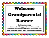 Grandparents' Day Welcome Banner