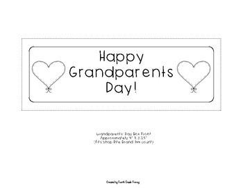 Grandparents' Day Wish Box