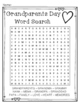 Grandparents Day Word Search Activity