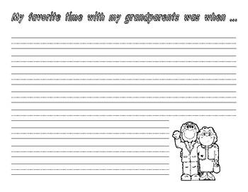 Grandparents Day Writing