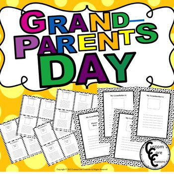 Grandparents Day Writing Activity