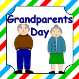 Grandparents Day activity pack and craftivity