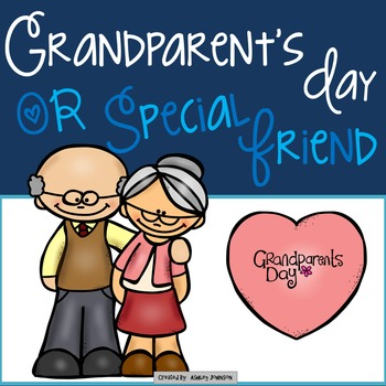 Grandparent's Day or Special Friend Celebration