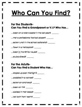 Grandparents (VIP) Day