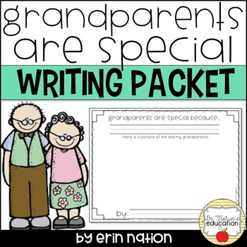 Grandparents are Special {writing prompts celebrating Gran