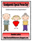 Grandparents or Special Person Day Activities
