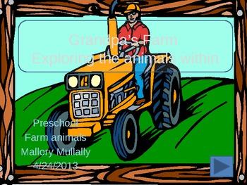 Grandpa's farm power point activity