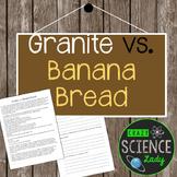 Granite vs. Banana Bread Close Reading **Freebie**