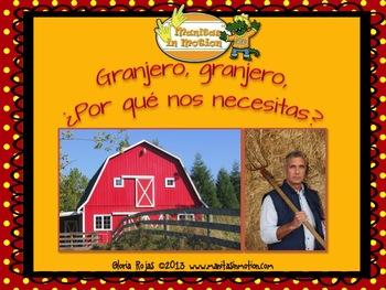 Granjero, granjero, ¿Por qué nos necesitas? – a bilingual