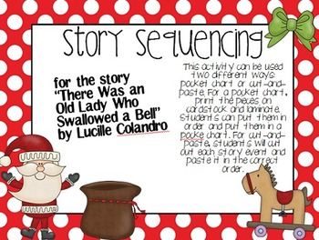 Granny Swallowed Christmas Story Sequencing