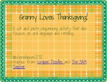 Granny loves Thanksgiving *FREEBIE*