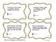 Granny's Garden Math Word Problem Task Cards