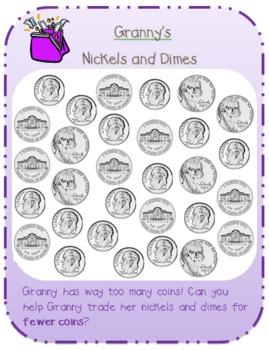 Granny's Money Coin Trading Math Center