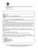 Grant Information for School Field Trips