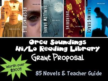 Grant Proposal: Orca Sounding Hi/Lo Library {85 novels wor