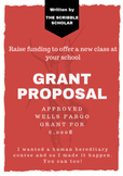Grant Proposal to Generate Funding for a new school course