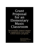 Grant Proposal for an Elementary Music Classroom