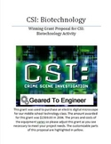 Grant: Winning Proposal for CSI: Biotechnology Project