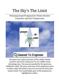 Grant: Winning Proposal for Water Rocket Launcher System