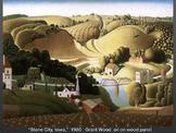 Grant Wood - Art History - American Gothic - Regionalism from Iowa