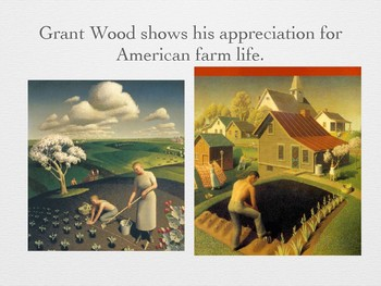 Grant Wood and A Rural Landscape Collage Lesson