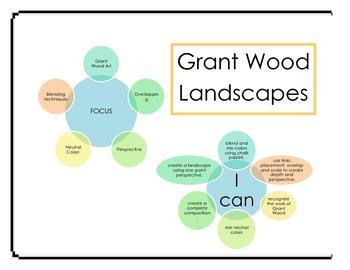 Art Lessons: Grant Wood/Farm Art Unit
