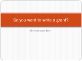 Tips for Successful Grant Writing: Ideas and Resources