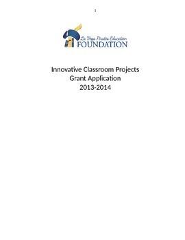 Grant application: Class set of Ipad minis