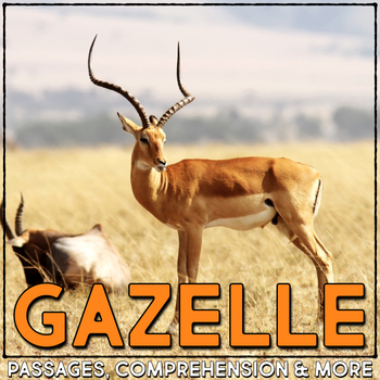 Grant's Gazelle: Informational Article, QR Code Research & Fact Sort