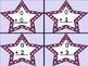 Grape Dot Star Addition Flashcards 0-12