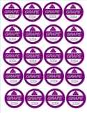 Grape Soda Badges