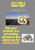 Grapes of Wrath  - Let's go on a ROAD TRIP prereading activity