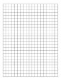 Graph Paper 1 CM Grid 8,5 X 11