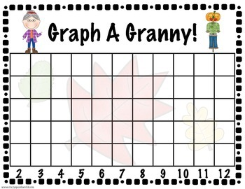 Graph A Granny! {Dice Graphing for the Old Lady Series}