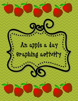 Graph {An Apple a Day} Graphing Activity