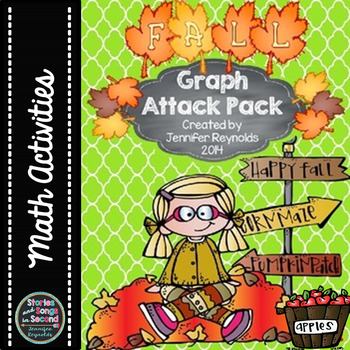 Graph Attack Pack--Math Favorites for Fall