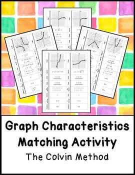 Graph Characteristics Matching Activity