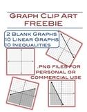 Graph Clip Art Freebie  - 22 png files
