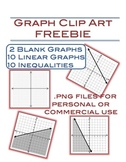 Graph Clip Art Freebie  - 22 png files