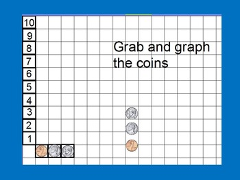 Graph Coins Activboard Flipchart