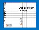 Graph Coins Activboard Flipchart