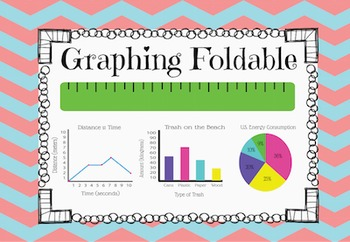 Graph Foldable and Parts of Graph Notebook Page