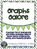 Graphs Galore - A Graphing Packet for the Elementary Classroom