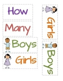 Graph: How Many Boys & Girls Are In Our Class?