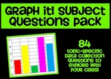 Graph It! Subject Questions Pack