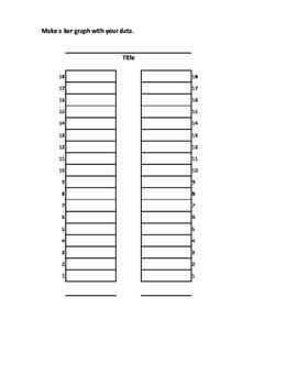 Graph It! pictograph, tally chart, bar graph