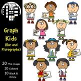 Graph Kids Clip Art