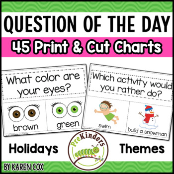 Graph Kit Printable Graphs For Pre K K By Karen Cox TpT